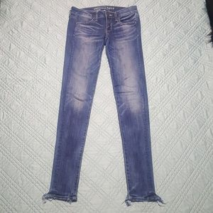 A&E super low rise jegging